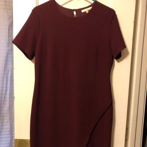 June & Hudson XL maroon dress